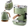 Подарочный комплект DeLonghi Icona Vintage Green