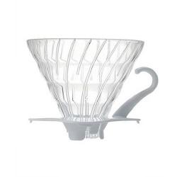Пуровер Hario V60 01 Glass White