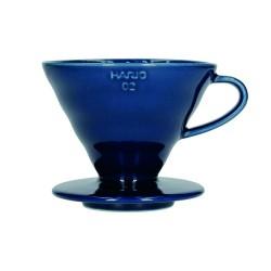 Пуровер Hario V60 02 Ceramic Indigo Blue