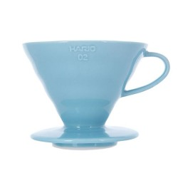 Пуровер Hario V60 02 Ceramic Light Blue