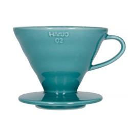 Пуровер Hario V60 02 Ceramic Turquoise